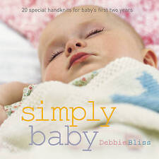 Simply Baby: 20 Special Handknits for Baby's First Two Years-ExLibrary