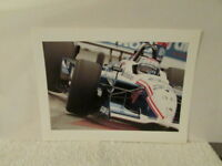 VINTAGE #39 INDY 500 CAR ON TRACK PHOTO SIGNED