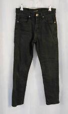 Target Man Men's Black Distressed Denim Jeans Straight Leg Stretch - Size 82/32