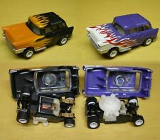 1988 Tomy 'Exploding' Chevy Nomad Canada Rare Slot Car Matched Set Only Pair A+