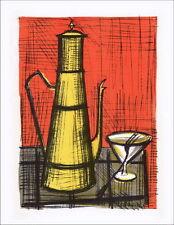 Bernard BUFFET - Lithographie : La cafetière - Mourlot 1967