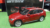 BMW  X1 xDRIVE 28i rouge red 1/18 KYOSHO 08791VR voiture miniature de collection