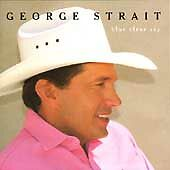 Blue Clear Sky by George Strait CD New Apr-1996 MCA Country Texas