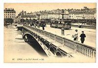 CPA 69 Rhône Lyon Pont Morand animé