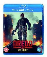 Dredd (3D Blu-ray, 2013)  NEW AND SEALED