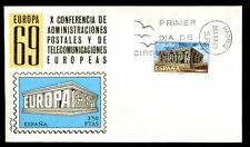 Spain 1969 Europa FDC Cover #C6663