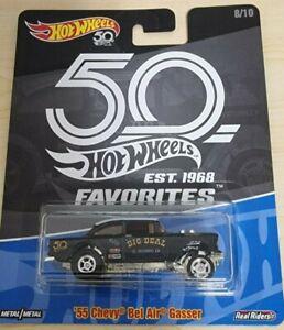 Hot Wheels - 55 Chevy Bel Air Gasser50th Anniversary