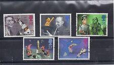 GB QEII 1996  CHILDREN'S T V PROGRAMME'S SG 1940 to 1944 VFU