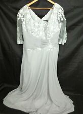 VM Collection Women's Wedding Formal Gown Lace Dress Size 18