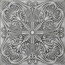 Decorative Ceiling Tile R39 ANTIQUE SILVER