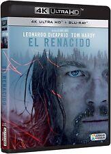 EL RENACIDO 4K ULTRA HD + BLU RAY NUEVO ( SIN ABRIR ) LEONARDO DICAPRIO OSCAR 16
