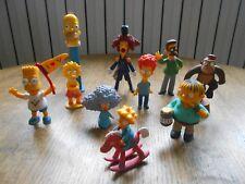 Lot de 10 figurines PVC Les simpson - The Simpsons (N)
