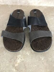 Merrell Around The Town Leather Sandals Size 8