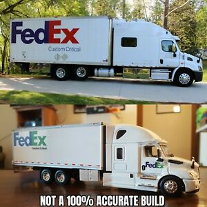 1:64 Custom Dcp FedEx Expedite