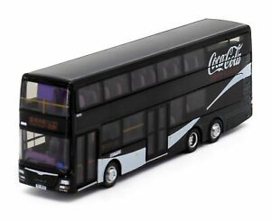 Tiny City Die-cast Model Car - Dennis A95 Coca-Cola Zero Edition Bus
