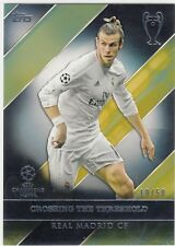 2016/17 Topps UEFA Champions Road to Victory Gold Gareth Bale Real Madrid 19/50