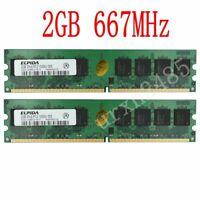 4Go KIT 2x 2Go pour Dell Dimension 5150n 600 9100 E510 DM051 E510n Ram Memory FR