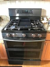 Samsung 30 in. 5.8 cu. ft. gas oven range Ny58J9850Ws grill included