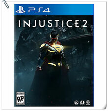 PS4 Injustice 2 Standard / Deluxe Edition SONY Warner Home Video Fighting Games