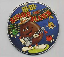 M&M's SINGS the BLUES Bono BB King Carl Perkins -CD single round thin metal case