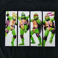 Teenage Mutant Nina Turtles Men's XL T-Shirt TMNT Licensed Nickelodeon Movie