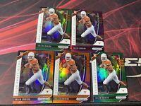 2020 Panini Prizm Draft Collin Johnson RC Lot of 5 Green Orange Purple Rookie