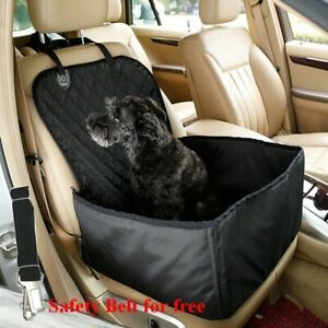 Front Car Seat Cover For Pet Dog Waterproof Basket Anti Silp Puppy Travel 2 In 1