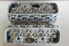 GM 14044861 Big Block Chevy Aluminum Rectangle Port Snowflake Cylinder Heads