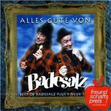 """BADESALZ """"ALLES GUTE VON BADESALZ (BEST OF)"""" CD NEU"""