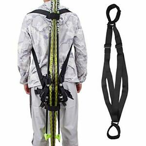 Ski Strap and Pole Carrier - Great for Carrying Ski - Men, Women and Kids