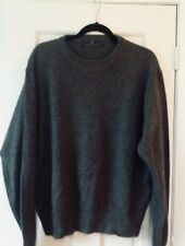 Reduced: Embassy Row Mens 100% 2-ply Cozy Cashmere XL Crewneck Sweater