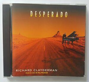 """RICHARD CLAYDERMAN 1992 ╚ CD """"DELPHINE"""" ╚ DESPERADO (avec GAY MARSHALL)"""