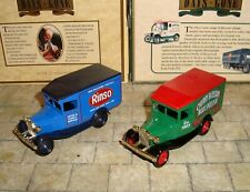 LLEDO  DAYS GONE -  2 x MODEL A FORD VANS - RINSO & CHERRY BLOSSOM  - BOXED