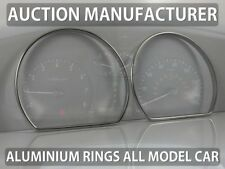 Kia Optima I Magnetis 1999-2005 Polished Aluminum Chrome Dial Rings For Counter