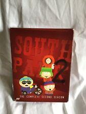 SOUTH PARK - THE COMPLETE SECOND SEASON DVD 3 Disc Boxset 18 Episodes *EUC*