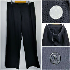Lululemon Mens XL Athletic Sweatpants Jogger Pants Drawstring Black