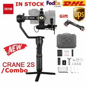 DHL Zhiyun Crane 2S 3-Axis Handheld Gimbal Stabilizer fr DSLR& Mirrorless Camera