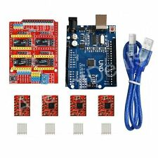 CNC kit UNO R3 ATmega328P CH340G + Shield + 4X A4988 Drivers for Arduino