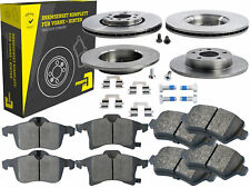 4 Bremsscheiben + Beläge Vorne & Hinten Opel Astra Kombi GTC Meriva Zafira