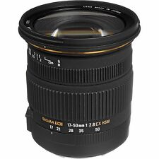 Sigma 17-50mm f/2.8 EX DC HSM Zoom Lens - Canon Fit