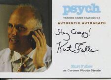 Psych Seasons 5-8 Autograph Card KF Kurt Fuller as Coroner Woody Strode (Var.)