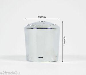 Universal Replacement Radiator Valve Cap Chrome Plated Easi Plumb CAPSC