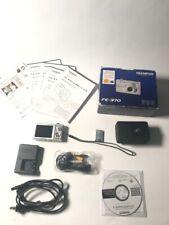 Olympus FE-370 8.0MP Silver Digital Camera GREAT CONDITION