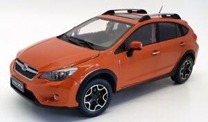 Sun Star 1/18 Scale Model Car 5571 - 2014 Subaru XV - Tangerine Orange