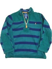Joules Boys Half Zip Sweatshirt 7 Years