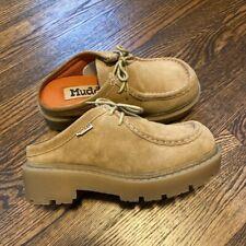 Vintage Mudd Slip On Platform Loafers