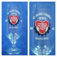 G814 GLAS BSG MOTOR RUHLAND DFV DFB Fussball Sport DDR Oberliga Liga H16,0cm