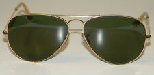 Ray Ban B&L USA GOLD VIETNAM ERA AVIATORS GRAY/GREEN LENS Vintage 60s Sunglasses