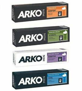 ARKO Men SHAVING CREAM MOISTURISING CREAM 100ML COMFORT|FRESH|SENSITIVE|COOL