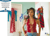 AUBREY PLAZA SIGNED 'THE TO DO LIST' 8x10 MOVIE PHOTO ACTRESS B BECKETT COA BAS